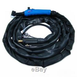 Welding torch TIG T-26 ERGO EURO 4m RC gas-cooled torch for TIG welding