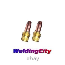 WeldingCity 2-pk Gas Lens Collet Body 45V26 3/32 for TIG Welding Torch 17/18/26