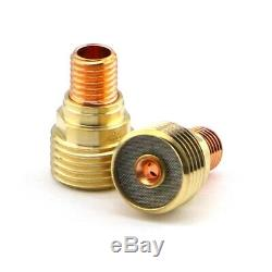 WeldingCity 5-pk Gas Lens Collet Body 45V44 3/32 for TIG Welding Torch 9/20/25