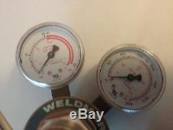 Weldmark by Victor 250 series oxygen / acetylene gas regulators cutting torch