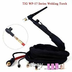 Wp17 Wp17fv Wp17f Tig Welding Torch Gas-electric Integrated Rubber Red Hose 4m