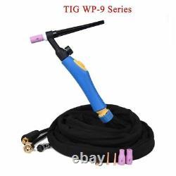 Wp9 Wp9fv Tig Welding Torch Gas Tungsten Arc Weld Tig Flexible Head Gas Valve