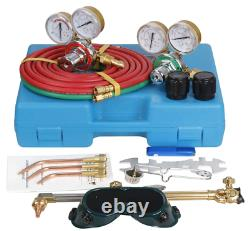 ZenStyle Oxygen & Acetylene Gas Cutting Torch and Welding Kit Portable Oxy Brazi